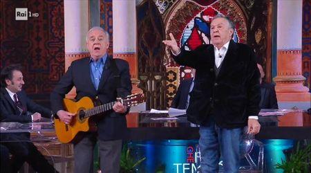 Cochi e Renato show: 'Come porti i capelli bella bionda' è tutta da ridere