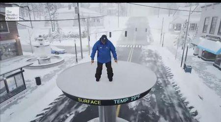 Usa, così nascono le tempeste di ghiaccio: lo show del meteoreologo