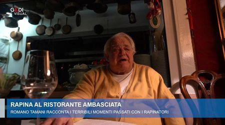 Lo chef Tamani sequestrato dai rapinatori per più di un'ora: ho temuto di morire