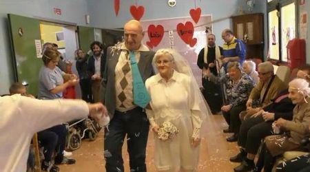 Vignola, Luisa e Benso finalmente sposi a più di 80 anni