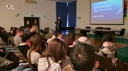 Lezione con la Gazzetta a Gazoldo per nuovi studenti-giornalisti
