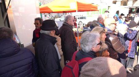 Mantova, l'ultimo giorno del mercato contadino
