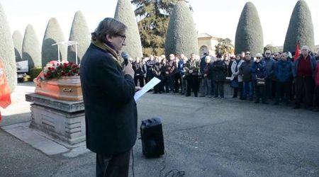 Voghera, l'addio al sindacalista Giancarlo Barbarossa