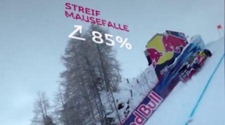 Kitzbühel, il Suv elettrico risale la pista di discesa libera: la sfida con una pendenza dell'85%