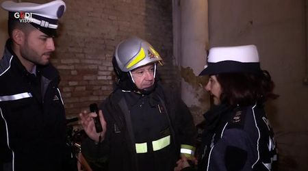 Modena, S. Eufemia crolla pavimento in un appartamento