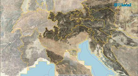 """Ecco il """"Google Maps"""" degli Asburgo: com'erano le città del Friuli Venezia Giulia nell'800"""
