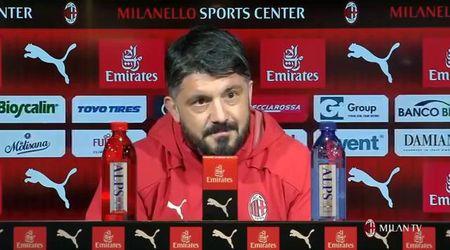"""Donne e calcio, Gattuso (MIlan): """"Mia moglie mi fa la formazione"""""""