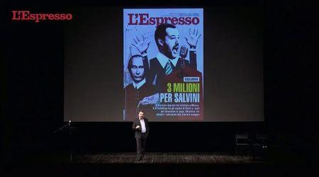 """Nuovo Espresso, Damilano presenta l'inchiesta di copertina: """"Quel viaggio di Salvini a Mosca"""""""