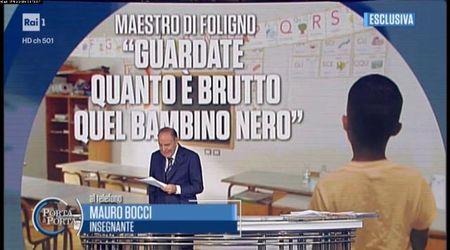 """Bimbo nero umiliato a Foligno, il maestro: """"Un equivoco, era una provocazione"""""""