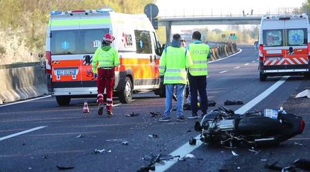 Incidente mortale sull'A13