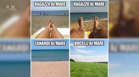 """""""Vi ricordate la mia foto al mare?"""": Alex Zanardi batte gli haters con l'ironia"""