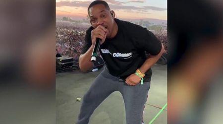 Duo a sorpresa al Coachella Festival, Jaden Smith porta sul palco il padre Will Smith