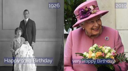 Gb, la regina Elisabetta compie 93 anni: la sua vita in un minuto
