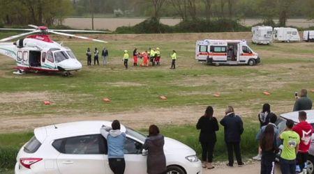 Dorno, 11enne ferito grave nel circuito di motocross