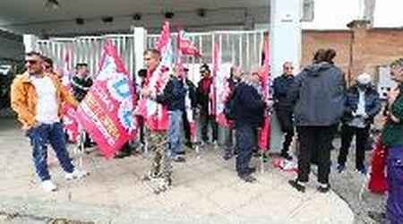 Appalto Eni-Versalis, protesta e sciopero dei lavoratori