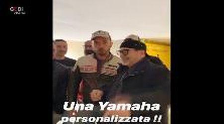Vasco come Valentino: arriva una Yamaha unica