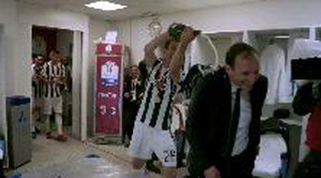 La Juventus omaggia Massimiliano Allegri: cinque anni di trionfi in un minuto