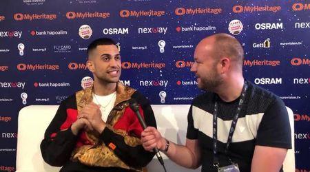 """Eurovision, Mahmood e la domanda in inglese: """"Non ho capito un c..."""""""
