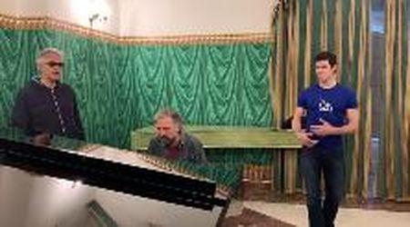 Bolle, Bocelli e Bollani: backstage da brivido di un trio straordinario