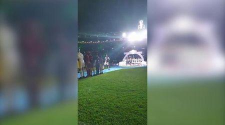Scudetto Juventus, passerella trionfale per Ronaldo: lo Stadium lo celebra col suo urlo rituale
