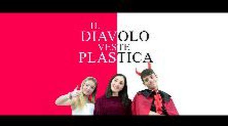 """""""Il diavolo veste plastica"""", la lezione degli studenti di Cecina"""
