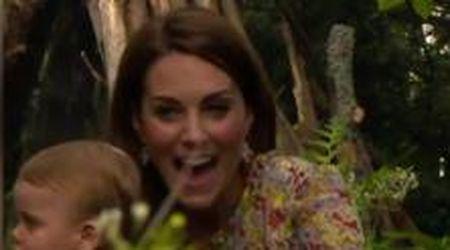 """Gb, il principe William al piccolo George: """"Che voto dai alla mamma?"""""""