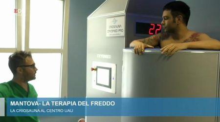 A Mantova è arrivata la criosauna alla Ronaldo: il benessere a -130 gradi