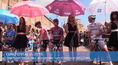 Carpi, la festa per la partenza del Giro d'Italia