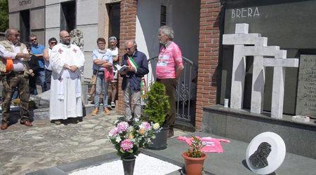 Giro d'Italia, a San Zenone il ricordo di Gianni Brera