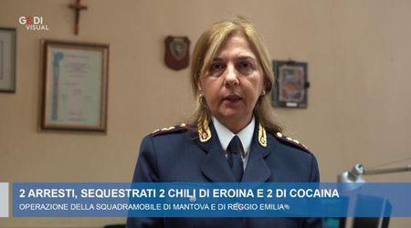 La Squadra mobile di Mantova sequestra due chili di eroina e due di cocaina: due in manette