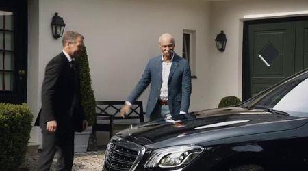 Bmw, omaggio al ceo Mercedes (con provocazione...)