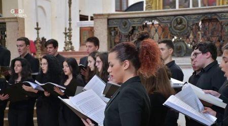 Mantova, il coro nella chiesa di Santa Barbara