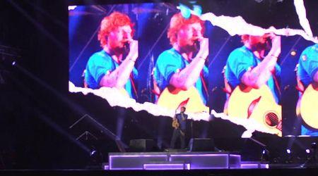 Ed Sheeran incanta Firenze: in 65mila per la prima data italiana del tour