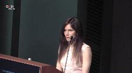 Modena, Amanda Knox racconta la sua odissera al Festival Giustizia Penale