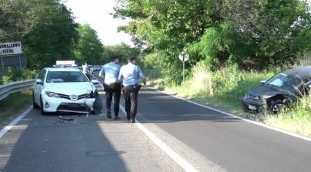 Rivanazzano, incidente con sette feriti