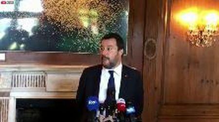 """Salvini sfida l'Europa da Washington: """"Flat tax questione di vita o di morte, manovra trumpiana che funziona"""""""