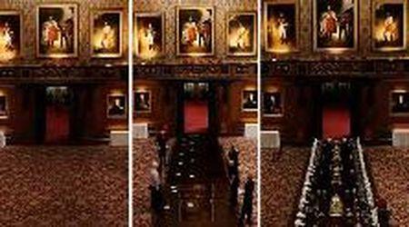 Nella sala da pranzo del castello di Windsor, come si apparecchia la tavola reale: il timelapse