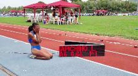 Chi è Larissa Iapichino, la figlia di Fiona May che batte i record nel salto in lungo