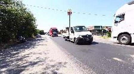 Schianto sulla Romea, motociclista portato a Cona in Elisccorso