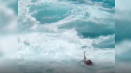 Hawaii, alta marea improvvisa: coppia di turisti rischia di annegare