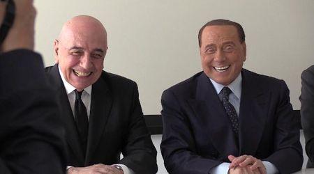 """Monza calcio, il lapsus di Galliani: """"Io a.d. del Milan"""". E Berlusconi lo prende in giro"""