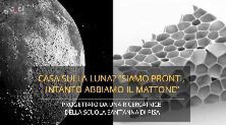 Pisa, i ricercatori della Scuola Sant'Anna hanno progettato i mattoni per costruire sulla luna