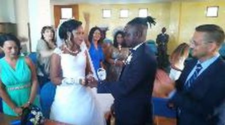Procida, matrimonio allo Sprar: Mary Joel e Jean Paul sposi