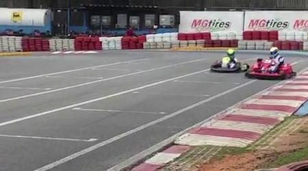 Brasile, dalla F1 al kart: Felipe Massa gareggia contro il figlio di 9 anni