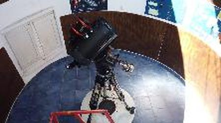 La meteora avvistata in Liguria