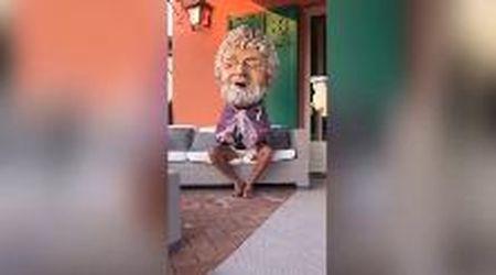 """Beppe Grillo: """"Salvini uomo di intelligenza media, ma non pensavo fosse sleale"""""""