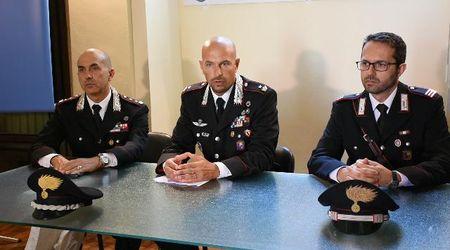 Vigevano, rapinatore arrestato: la conferenza stampa