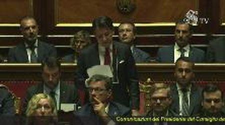 Crisi di governo, Giuseppe Conte parla in Senato: il discorso integrale