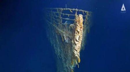 """""""Il Titanic sta scomparendo"""": le nuove immagini del relitto dopo 14 anni"""