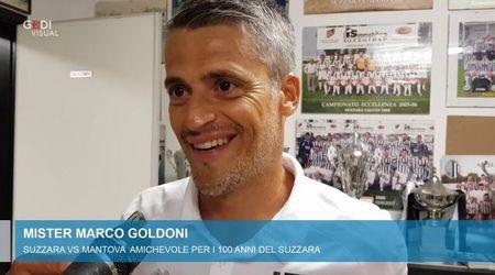 """Il Mantova supera a fatica il Suzzara, mister Goldoni: """"Per noi una buona prova per il campionato"""""""